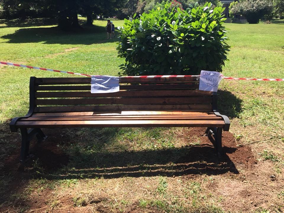 Panchina Rotonda : Cdq vigna murata il cdq vigna murata con laiuto di volontari del